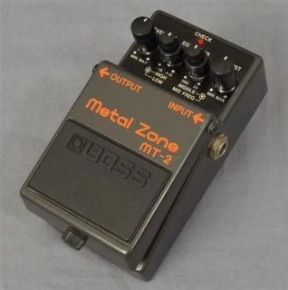 Boss MT 2 MT2 Metal Zone Guitar Effects Pedal PD 7451