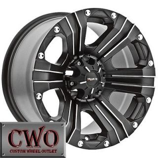 Newly listed 18 Black Ballistic Outlaw Wheels Rims 8x180 8 Lug GMC