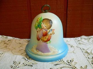 ANRI FERRANDIZ ITALY VINTAGE 1977 MUSIC BOX BELL YOU LIGHT UP MY LIFE