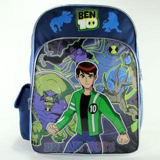 Ben 10 Ultimate Alien Fight 16 Large Backpack   Book Bag Boys School