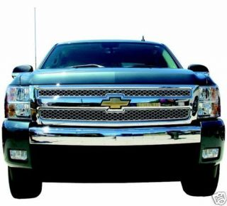 Chevy Silverado Chrome Grille Overlay GI40 Chevy Truck Parts