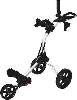 NEW LINKSMAN GOLF X13 Mini SPEED 3 THREE WHEEL PUSH PULL CART TROLLEY