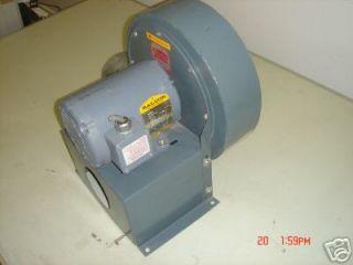 Fan Blower 1/3 HP Baldor Motor, Exhaust Cool Convey
