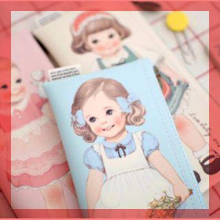 Pencil Box Case Pen Pouch_AFROCAT_Paper doll mate pencil case ver.1