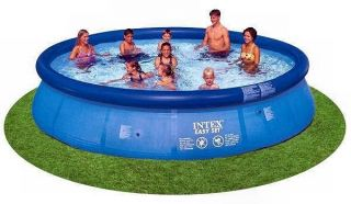 NEW INTEX 15 x 36 Easy Set Above Ground Swimming Pool