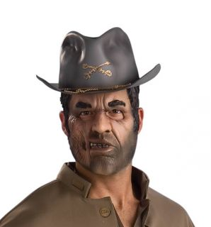 Deluxe Jonah Hex Confederate Cavalry Civil War Halloween Costume Hat
