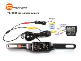 WATERPROOF CAR REARVIEW BACK UP REVERSE VIDEO LED CAMERA NIGHT VISION