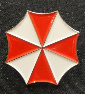 Resident Evil   Umbrella Corporation Pin Badge   BRAND NEW