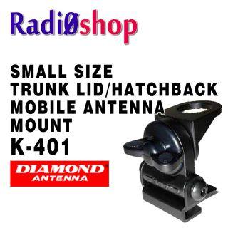 DIAMOND K 401 TRUNK LIP MOBILE HAM RADIO ANTENNA MOUNT