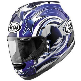 Arai Corsair V Motorcycle Full Face Helmet Edwards Blue Medium