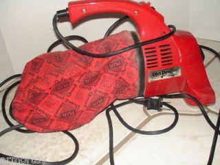 Dirt Devil Hand Held Portable Vacuum w/accessories;nice shape;model