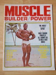 MUSCLE BUILDER bodybuilding magzine/SERGIO OLIVA/Dave Draper 3 69