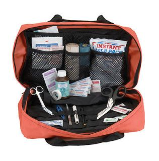 Orange EMT EMS Paramedic Rescue Tactical Duty Trauma Duty Bag w Star
