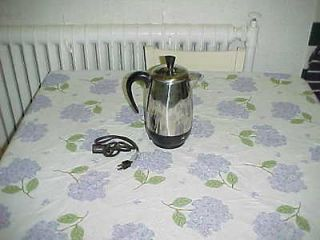 FARBERWARE ELECTRIC PERCOLATOR COFFEE SUPERFAST 8 CUP MODEL FCP 280