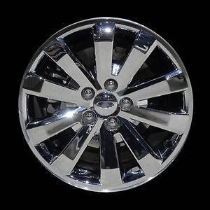 Brand New 18 Cladded Chrome Alloy Wheel for 2007 2011 Ford Edge
