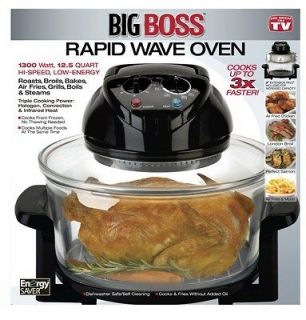 Emson 8218 Big Boss Rapid Wave Oven, 12 1/2 Qts.