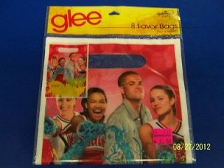 Glee Fox TV Series Show Kids Birthday Party Favor Loot Bags Treat