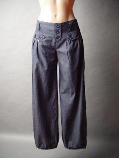 Dark Denim Urban Hip Hop Street Baggy Style Women Dance B Girl Jeans
