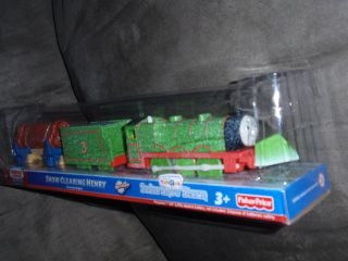 Thomas & Friends Trackmaster SNOW CLEARING HENRY new!