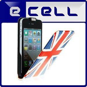GREAT BRITAIN UNION JACK FLAG OLYMPIC GAMES LEATHER CASE FOR APPLE