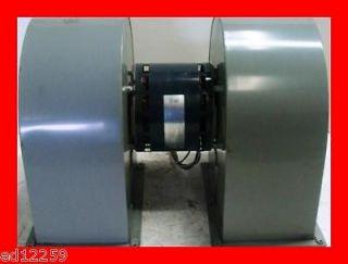 Dual 115V Centrifugal Fan Squirrel Cage Blower 0261 217 Liebert 5.4A