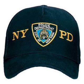 New Deluxe Low Profile NYPD Shield Insignia Cap