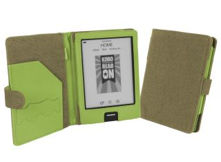 Cover Up Kobo eReader Touch Edition Natural Hemp Book Style Case