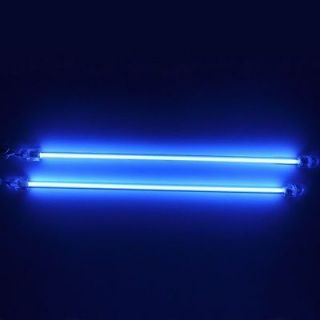 2PCS 6 Blue Dual Cold Cathode CCFL Lights Mod Car Kit PC Bright Neon