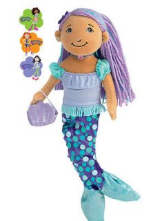 Groovy Girl Maddie Mermaid 13 Soft Doll Manhattan Toy 122090 New