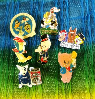 Elmer Fudd, Looney Tunes, Road Runner & More Collectible Lapel Pins
