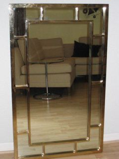 of rare 1960s Thomasville Hollywood Regency Gold beveled Wall mirrors