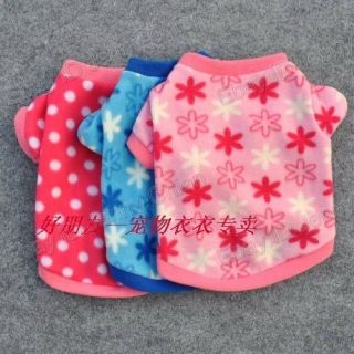 Pet dogs cat cloth Snowflake Winter Costumes Clothes Apparel Cute T