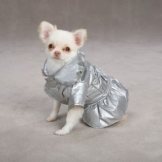 XX SMALL teacup yorkie poodle chi PUFFY DOG COAT parka sweater clothes