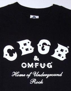 CBGB OMFUG CBs T shirt Underground Punk Rock NYC SzS