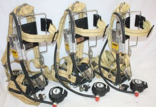 INDUSTRIAL Air Pack SCBA Harness 2216 Air Pak Low Pressure Very Nice
