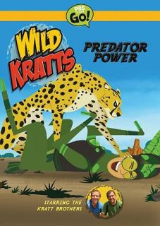 Paramount Wild Kratts predato​r Power [dvd], Good DVD, ,