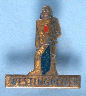 Elektro the Robot Brass Pin 1939 New York Worlds Fair Westinghouse