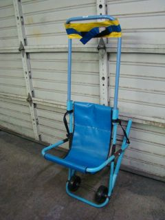 EVAC+ Chair Emergency Decent Wheelchair Stair Evacuation Lift Chair