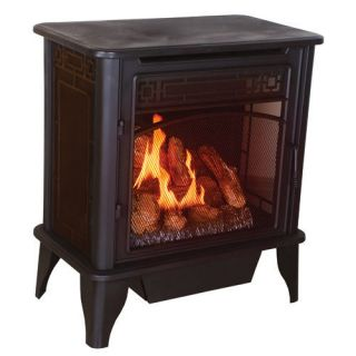 VENTLESS GAS STOVE HEATER FIREPLACE PROPANE NATURAL GAS
