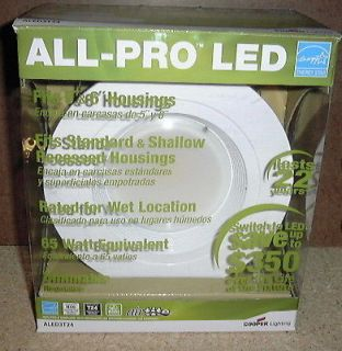 All pro 6 in.recessed LED retrofit light trim,new in box