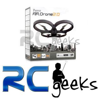 Parrot AR Drone 2.0 WiFi Quadricopter HD 720P for iPhone iPad iPod and