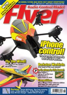 RC Model Flyer Magazine Issue June 2011 Parrot AR Drone