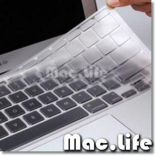 CLEAR TPU Keyboard Cover Skin for APPLE Macbook Air 13 A1369