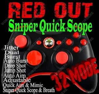Black Ops 2 RAPID FIRE Modded Xbox 360 Controller Sniper Breath Jitter