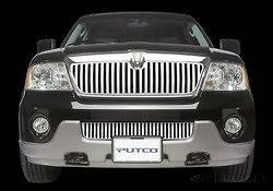 Putco Designer FX Bumper Valance Grille Insert Stainless Oval Pattern