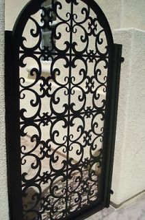 ITALIAN METAL GATE ON SALE DECORATIVE ORNAMENTAL CUSTOM IRON GARDEN