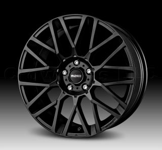 MOMO Car Wheel Rim Revenge Matte Black 17 x 7 inch 5 on 112mm Part