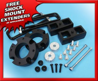 FT B Billet + 2 RR Steel Lift Kit Toyota Tundra 2007 2012 4WD w