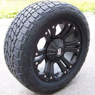 WHEELS & NITTO TERRA GRAPPLER TIRES 6X5.5 6X135 FORD F150 GMC SIERRA