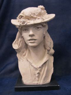 Vintage Austin Productions Rodin Rose Beuret Beret Sculpture